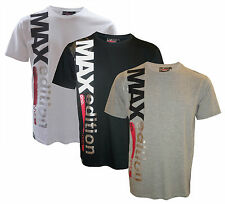 Mens Max Edition ONO crew neck graphic style short sleeve t-shirt 3 colours