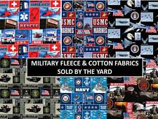 MILITARY FLEECE FABRIC & MILITARY COTTON FABRIC-SOLD BY THE YARD-BEST ON EBAY