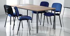 4 x Conference Meeting Stacking Visitors Chair Choice of 7 colours FREE Delivery