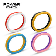 New Power Ion Silicone Sports Bassball Running Bracelets Wristband Color U Pick