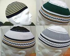 Brand New Kufi Skull Cap Prayer Namaz Hat LOTS OF COLOURS Islamic Muslim Beanie