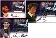Prof Quirrell Dean Thomas PS SS Auto Trading Card Harry Potter Autograph