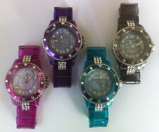 Ladies Lightweight Bracelet Style Crystal Watch Made With SWAROVSKI ELEMENTS