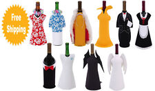 Various Characters Wine Bottle Jacket Coolers