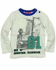 ONE UP by Eliane et Lena Boys' T-shirt Queen, Size 2, SAMPLE