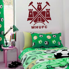 West Ham Badge - Wall Decal Art Stickers football sport bedroom nursery playroom
