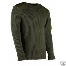 WOOL NATO / ARMY JUMPER. WOOLLY PULLY. OUTDOOR,UNIFORM,SECURITY,MILITARY, #09048