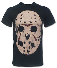 Jason Voorhees T Shirt (Friday The 13th Horror Mask) Cult 1980s Movie fashion