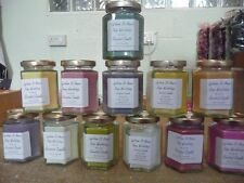 AMAZING CANDLES HANDMADE SCENTED 40HR JAR CANDLES NEXT DAY DISPATCH