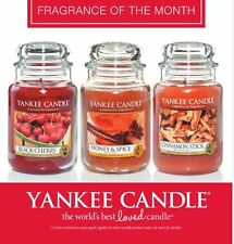NEW Fragrances 25% OFF Yankee Candle Large 22oz Jars Scented Candles