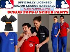 MLB SCRUB TOP-MLB SCRUB PANTS-MLB SCRUBS-ALL TEAMS-MLB BASEBALL SCRUBS-M-0-TEAMS