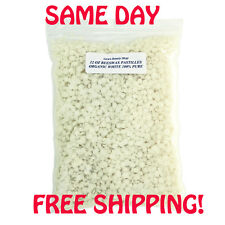 BEESWAX WHITE ORGANIC PASTILLES  BEARDS, PURE  2 oz - 8 lb Free S&H!