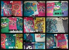 * NWT NEW LOT 3 or 4 GIRLS SUMMER SCHOOL SHIRTS LOT 7/8 8/10 12/14 12/14