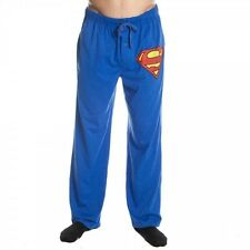 Superman Symbol Superhero Sleep Lounge Pants Licensed DC Comics S-XXL