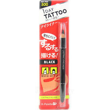 K-Palette 1 Day Tattoo Lasting Eyeliner Pencil Soft Head with Brush