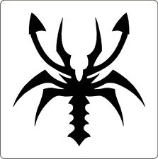 Stencil Cake Decoration Airbrush Tattoos Body Painting Scrapbooking Scorpion #A7