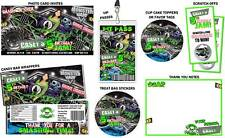 Monster Truck Jam Birthday Party Invitations & Favors !