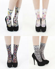New Pamela Mann Printed Ankle Socks ~ Various Designs ~ Hosiery Style Fashion
