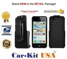 Seidio Surface Case with Holster COMBO for Apple iPhone 5 (BD2-HR3IPH5-BK)