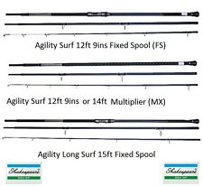 Shakespeare Agility Surf Rods 12ft 9ins FS/12ft 9ins Multi/15ft Long Surf