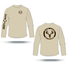 Dixie Land Outdoors long sleeve hunting t shirt,Deer skull t shirt,bow hunting