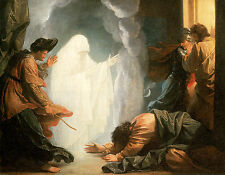 Soul and the Witch of Endor, c.1777 - Benjamin West -Great American Art