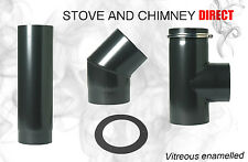 Vitreous Enamel Flue Pipe for Wood buring Stoves