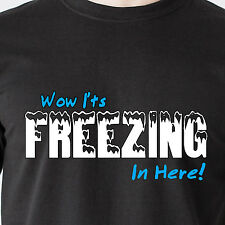 Wow it's Freezing in here breast boobs sex vintage retro humor 69  Funny T-Shirt