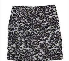 * NWT NEW GIRLS IZ Amy Byer Cheetah Banded Skirt  7