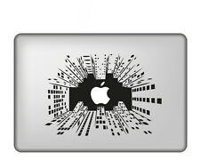 "Adesivo ""Apple in the Sky"" a tinta unita per tutti i modelli Mac Book Apple"