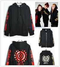 2NE1 MEMBER TEAM TYPE GOLDEN ZIP-UP RED HOODIE KPOP FREE SHIPPING