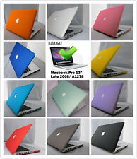 "11 Colors Rubberized Hard Case Cover For Macbook Pro 13"" /13.3inch A1278"