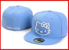 Hello Kitty New Era 59 Fifty Fitted Cap White Kitty on Sky Blue Hat