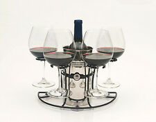 Wine Glass Holder and  Bottle Holder,no spill for Boat, RV, Bath-Tub, Counters