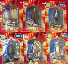 DOCTOR WHO SERIES 2 ACTION FIGURES CARDED RARE WORLDWIDE SHIPPING SEASON 2 DALEK