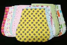 Handmade Cotton Flannel Burp Cloths-Many Cute Prints!