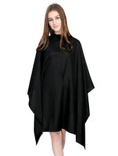 Hairdressing Hair Gown Cape Stud Fastening - Black, White, Grey, Brown Or Navy
