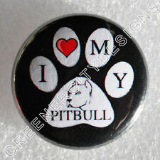 M12 - PAW - I heart my Pit Bull - Love Dog Breeds Pets Animals