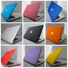 """11color Rubberized Frosted Shell cut-out Hard Case Cover for Macbook Pro 15"""""""