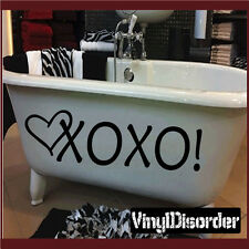 Xoxo! Heart Valentine's Day Holiday Vinyl Wall Decal Mural Quotes HD051