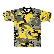 Rothco Mens Camouflage T-Shirt, Stinger Yellow Camo By Rothco