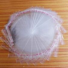HOT 100pcs Multi Size Clear Seal Self Adhesive Plastic Jewelry Packing Bags