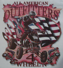 ALL AMERICAN OUTFITTERS 4 WHEELER MUD RACING QUAD SHIRT #358
