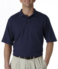 436 Jerzees Adult Jersey Pocket Polo with SpotShieldn++