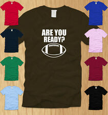 FOOTBALL - MENS T-SHIRT SMALL awesome sports quarterback nfl fantasy fan tee S
