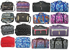 5 Cities® Hand Carry On Cabin Luggage Flight Bag Holdall Fits Ryan Air Easy Jet
