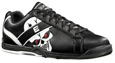 New Etonic Mens Black Glo-Skull II Glow Bowling Shoes Size 7.5 8 8.5 9 10 11