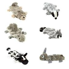 Gor Pets Wild Stuffing Free Multi Squeaker Soft Dog Puppy Play Toy 6 Characters!