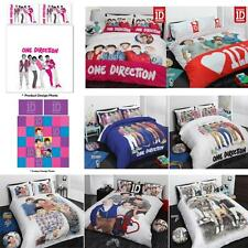 ONE DIRECTION 1D Quilt Doona Cover Set - Single, Double, Queen, Design Choice