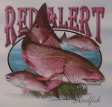 ALL AMERICAN OUTFITTERS RED ALERT REDFISH FISHING SHIRT #1824